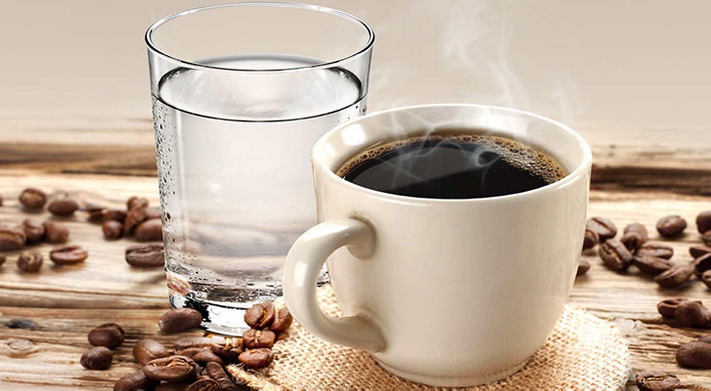 вам предлагаем кофе и вода картинка автономный