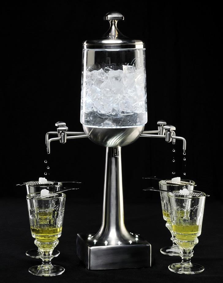 Французский способ пить абсент