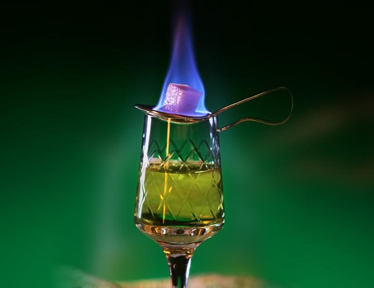 Чешский способ пить абсент