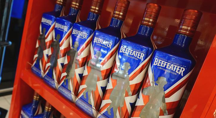 История Бифитер джин