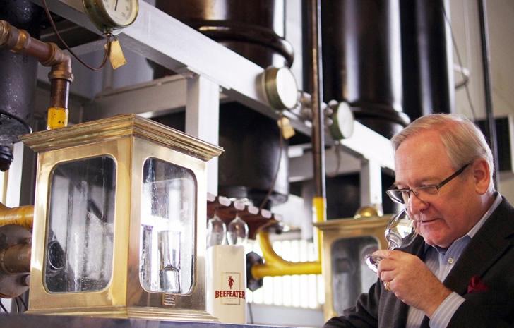 Технология производства Бифитер джин