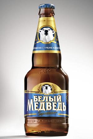 Белый медведь безалкогольное пиво