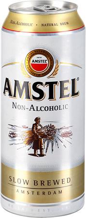 Амстел безалкогольное пиво