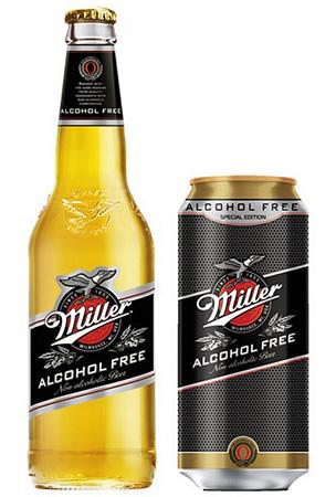 Миллер безалкогольное пиво