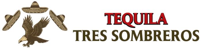 Текила Трес сомбрерос (Tres Sombreros) логотип