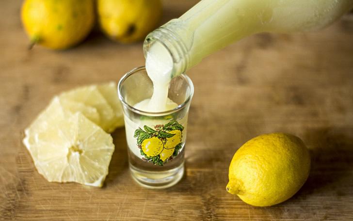 Рецепт кремового лимончелло