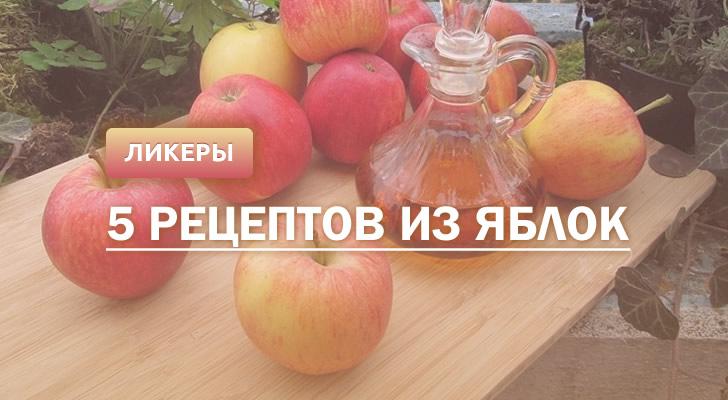 Яблочный ликер: 5 рецептов в домашних условиях