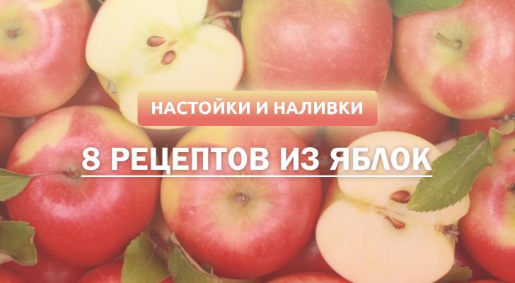 Яблочная настойка и наливка: 8 рецептов в домашних условиях