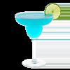 Голубая маргарита рецепт коктейля, состав, фото