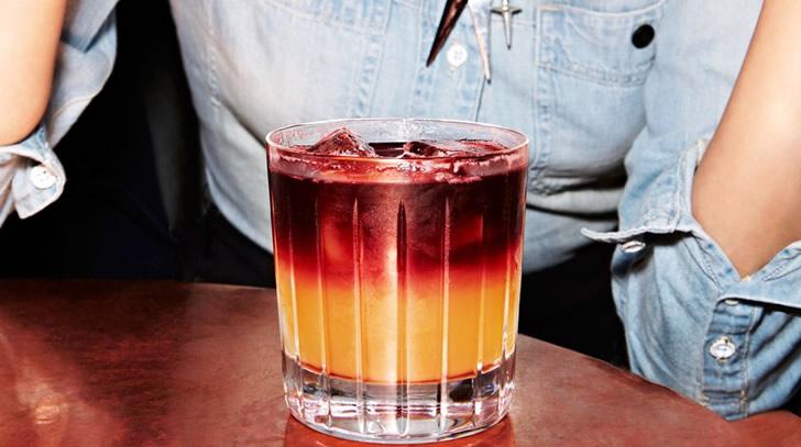 Нью-Йорк-сауэр фото коктейля