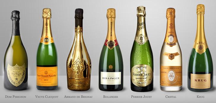 На какие марки шампанского стоит обратить внимание