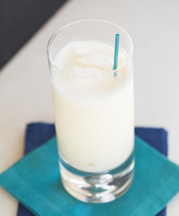 Белое облако фото коктейля