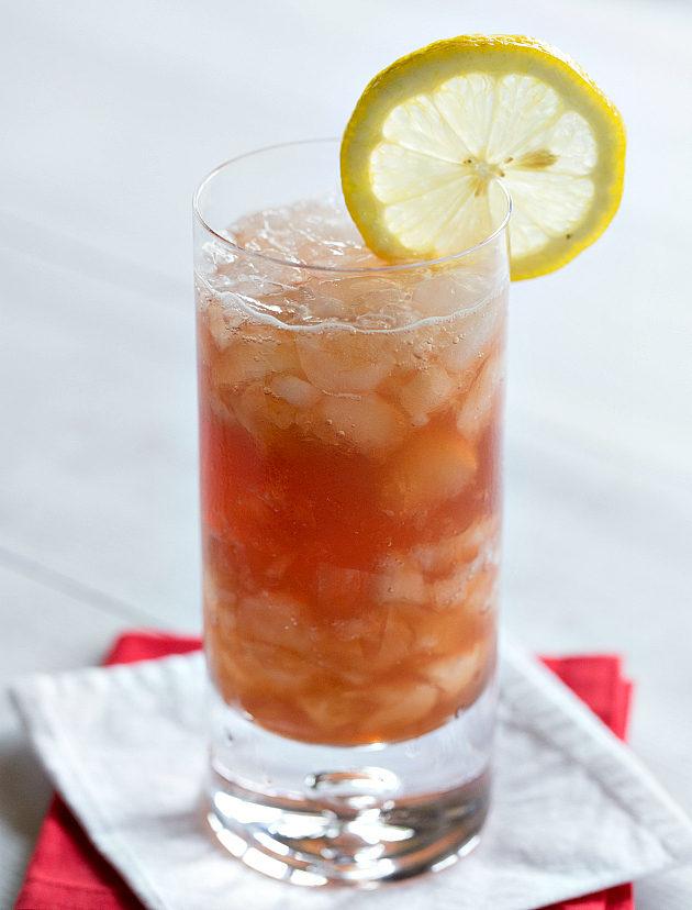 Вишневая содовая фото коктейля