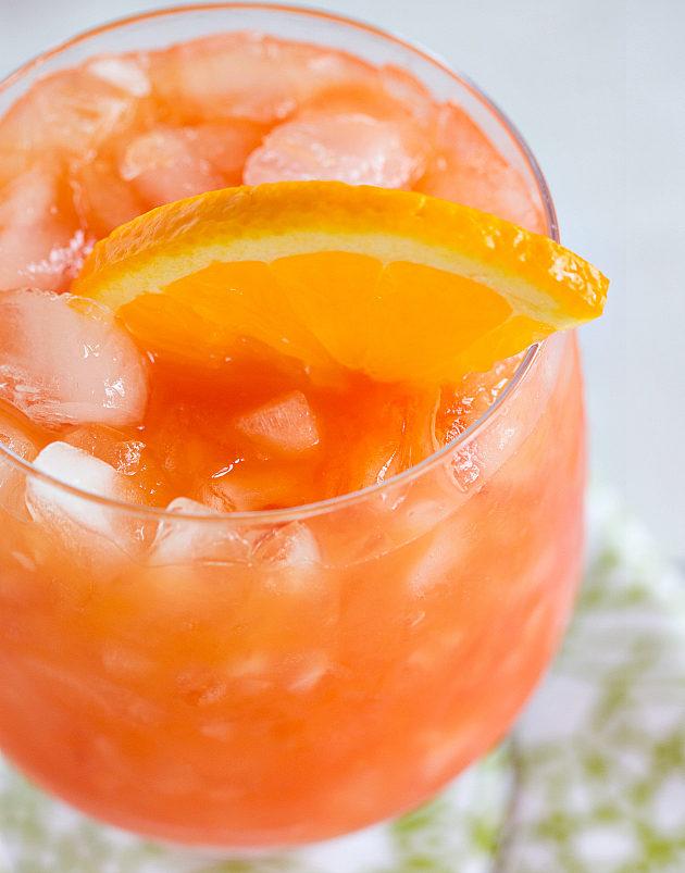 Кампари апельсин фото коктейля