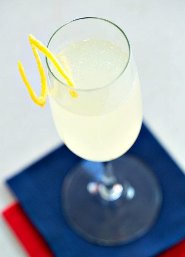 Френч 75 рецепт и фото коктейля