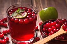 Клюквенный сок в коктейлях