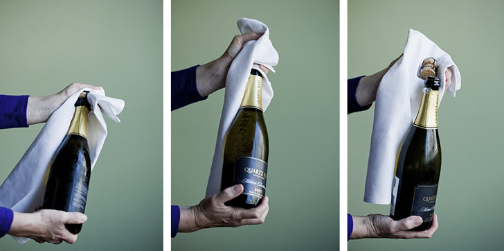 Как открыть шампанское: 15 способов