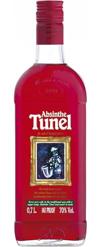 Абсент Туннель Красный