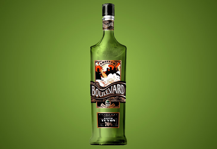 Абсент Бульвар (Boulevard): обзор алкоголя