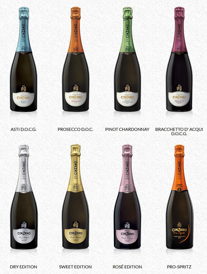 Чинзано игристое вино