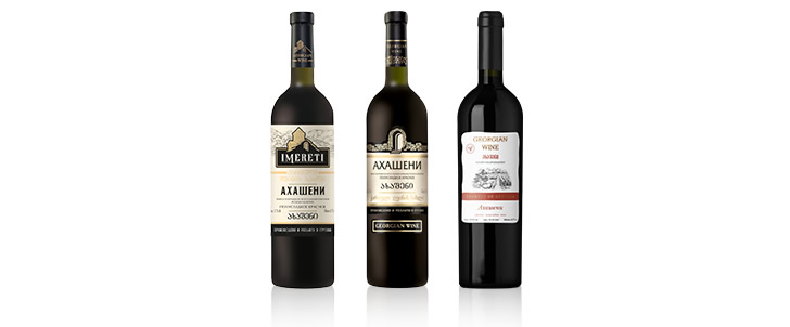 Akhasheni (Ахашени) вина грузии