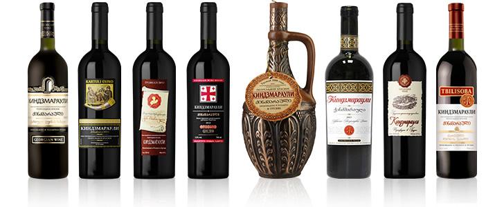 Kindzmarauli (Киндзмараули) вина грузии