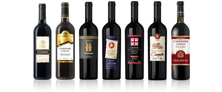 Saperavi (Саперави) вина грузии