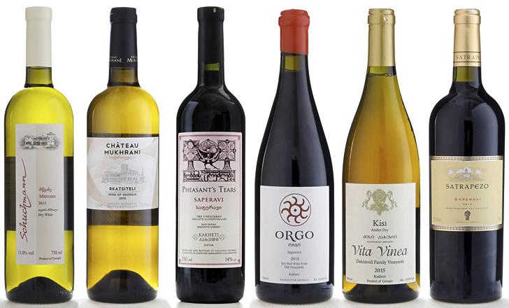 Белые вина грузии