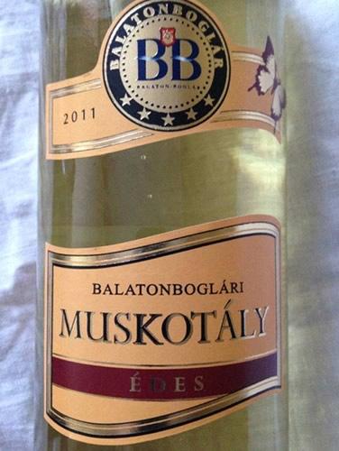 Балатон Боглари Мушкотай вино