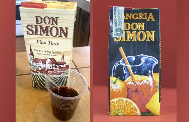 Дон Симон вино: история коротко, виды и обзор вкусов