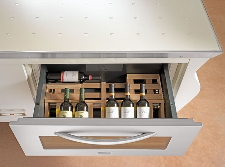 Специальные выдвижные ящики - Подставка для вина
