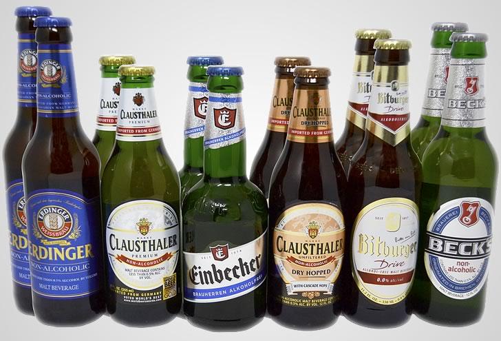 Виды безалкогольного пива