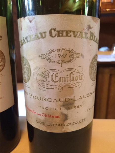 Chateau Cheval Blanc 1947 года – 305,000$