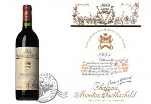 Jeroboam of Chateau Mouton-Rothschild 1945 – 310,700$