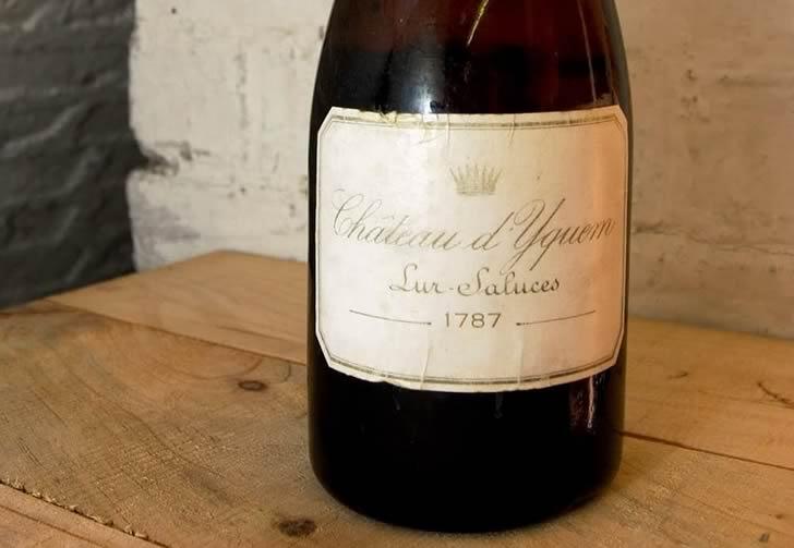 Chateau d'Yquem – 90,000$