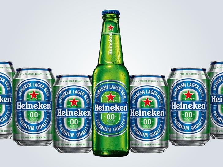 Heineken 0.0 (безалкогольное)