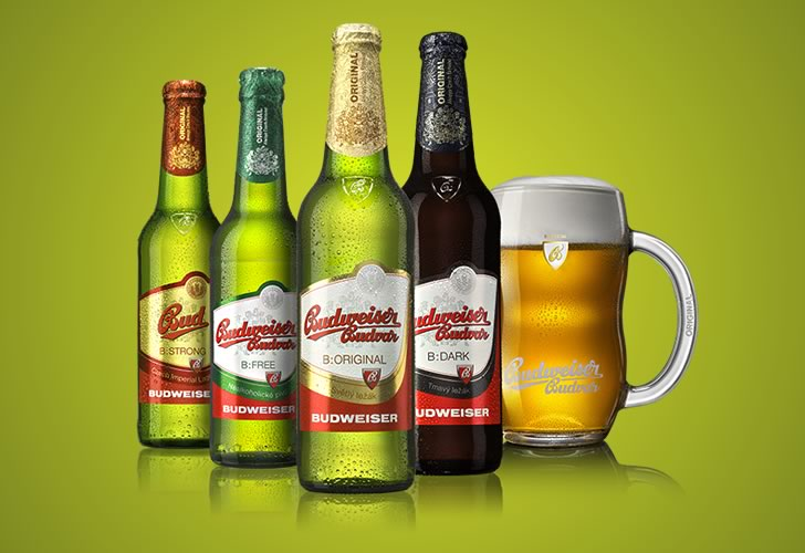Виды пива Будвайзер