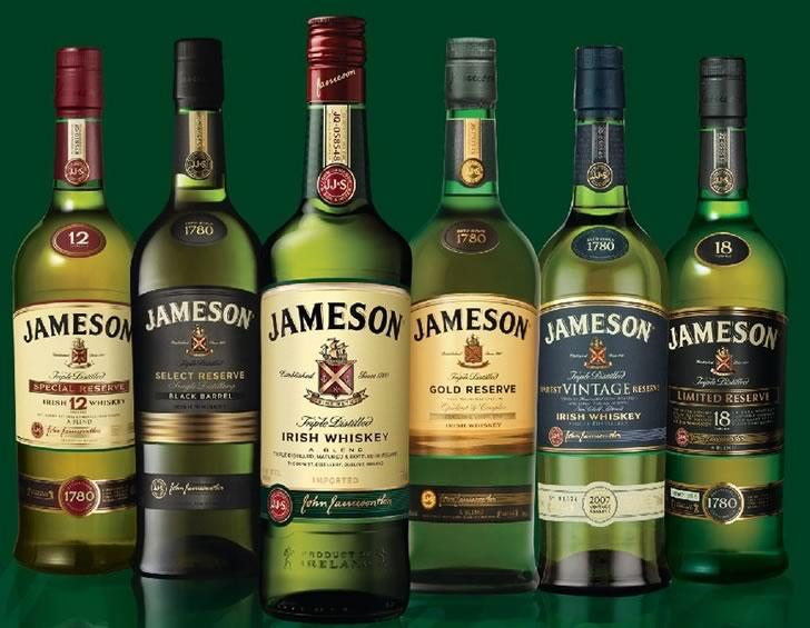 Виски Джемесон виды
