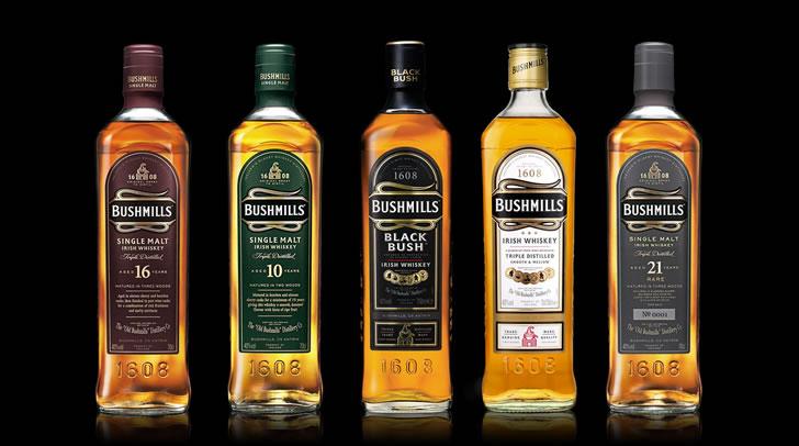 Обзор видов и вкусов виски Бушмилс