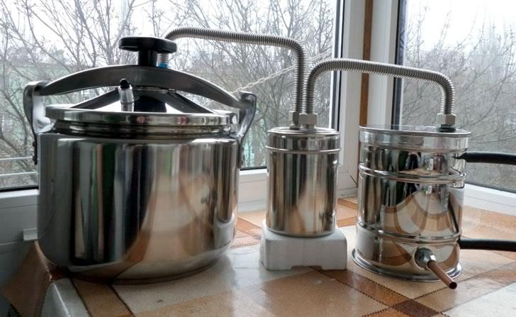 Как сделать самогонный аппарат из скороварки домашние пивоварни новороссийск