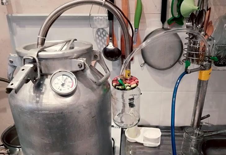 Скороварка или бидон самогонный аппарат мини самогонный завод купить