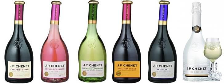 Коллекция вин от «J. P. Chenet»[