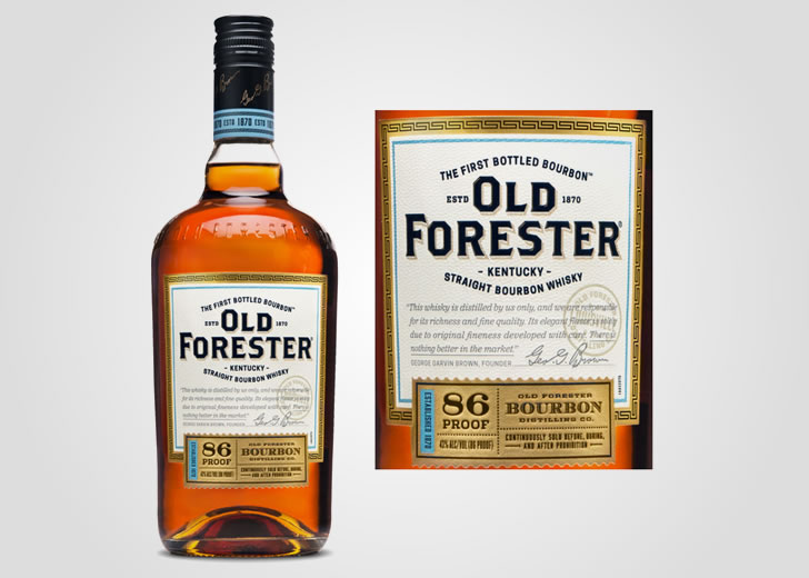 Classic 86 Proof Old Forester