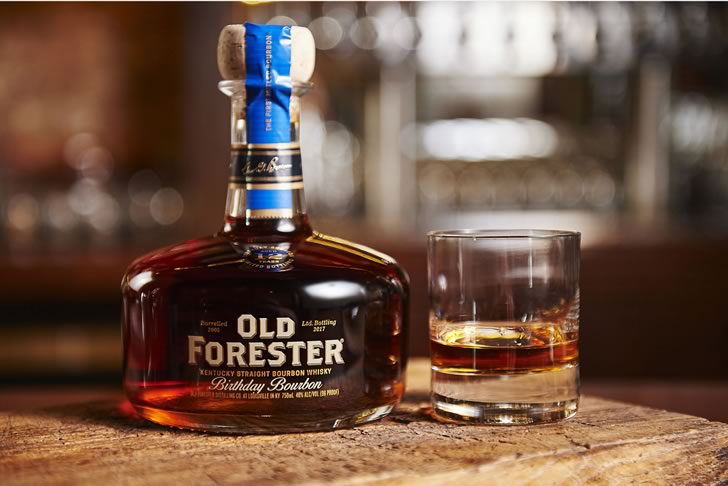 Birthday Bourbon Old Forester