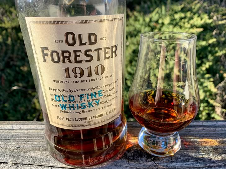 1910 Old Fine Whisky Old Forester