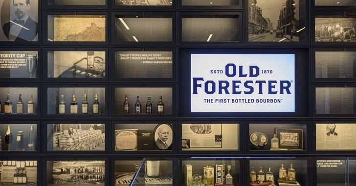 История бурбона Old Forester