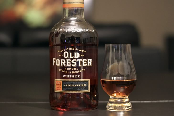 Signature 100 Proof Old Forester