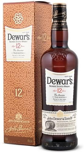 Dewars 12 YEARS OLD