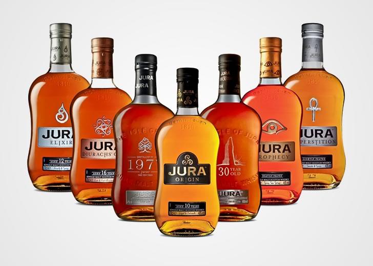 Виды виски Джура