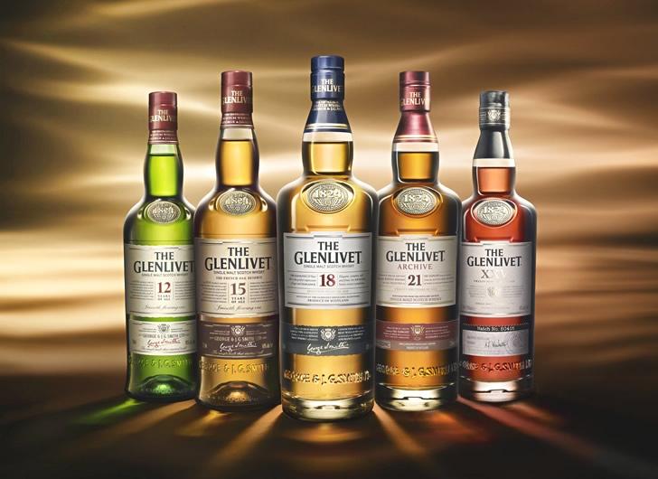 Обзор видов виски Гленливет